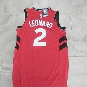 Other - New Nike Kawhi Leonard Toronto Raptors Jersey L
